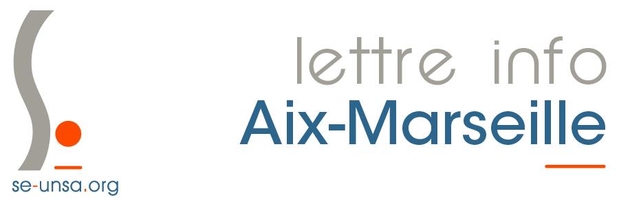 La Lettre du SE-Unsa d'Aix-Marseille